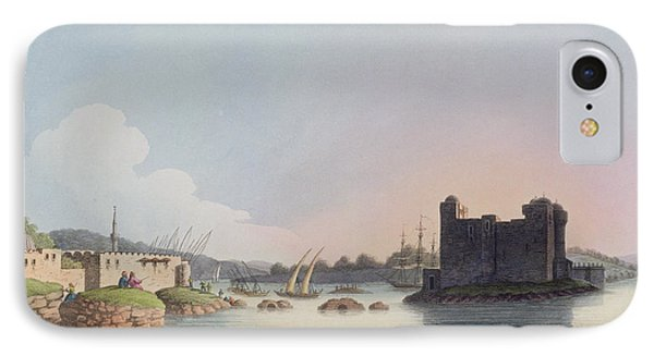 Port Of Latachia, In Syria, From Views IPhone Case by Luigi Mayer