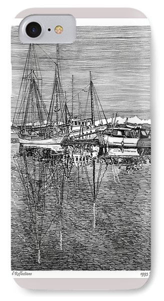 Reflections Of Port Orchard Washington Phone Case by Jack Pumphrey
