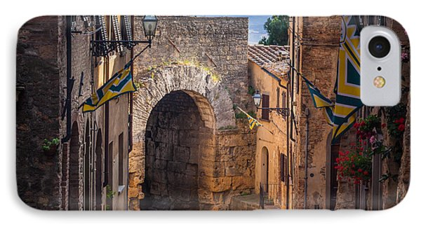 Porta Dell'arco Phone Case by Inge Johnsson