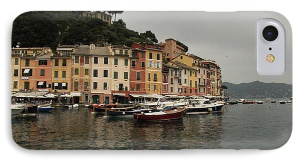 Portafino Italy  IPhone Case by Diane Greco-Lesser