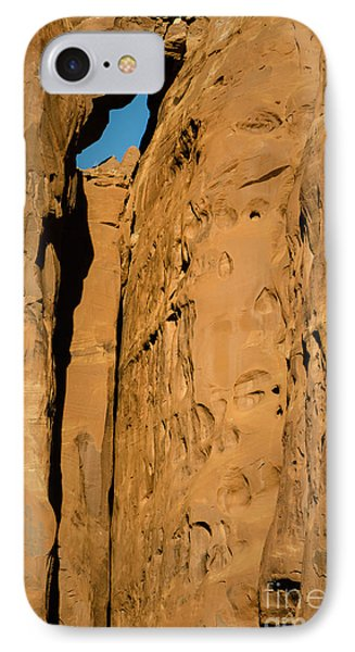 IPhone Case featuring the photograph Portal Through Stone by Jeff Kolker