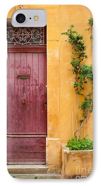 Porte Rouge Phone Case by Inge Johnsson