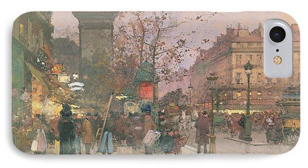 Porte Saint Denis IPhone Case