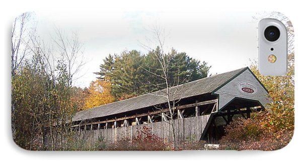Porter Covered Bridge IPhone Case by Catherine Gagne