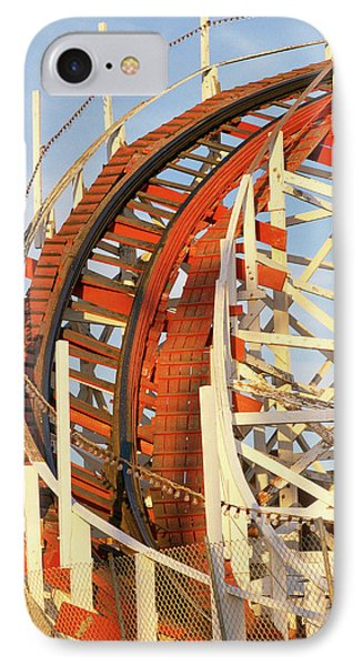 Portion Of Rollercoaster IPhone Case