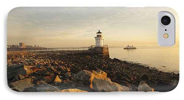 Portland Breakwater Light - Portland Maine Phone Case by Erin Paul Donovan