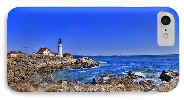 Portland Head Light 4 Phone Case by Joann Vitali