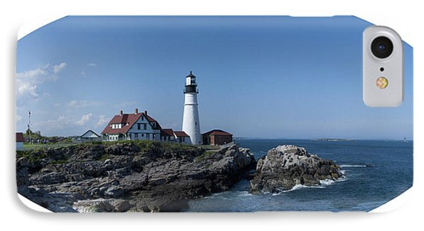 IPhone Case featuring the photograph Portland Head Light House by Daniel Hebard