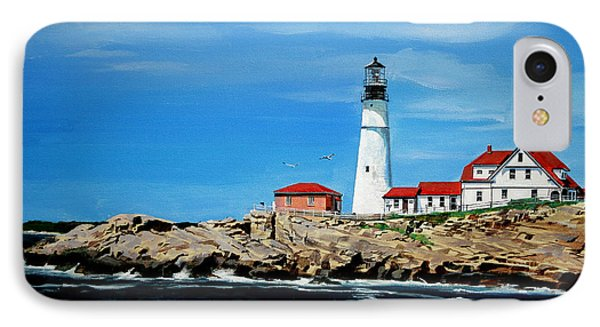 Portland Head Lighthouse Phone Case by Bill Dunkley
