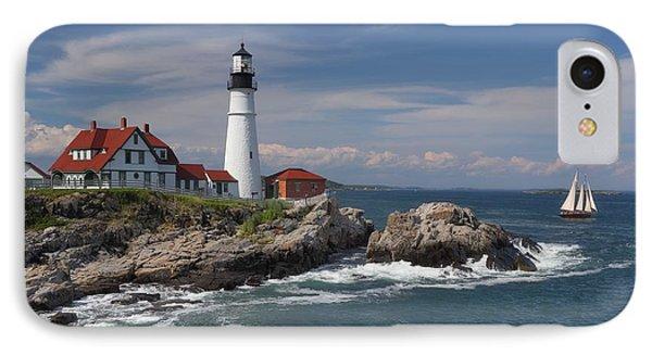 Portland Head Lighthouse IPhone Case by Daniel Behm