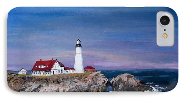 Portland Head Lighthouse Phone Case by Jack Skinner