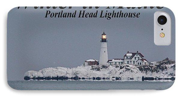 Portland Head_9983a IPhone Case by Joseph Marquis