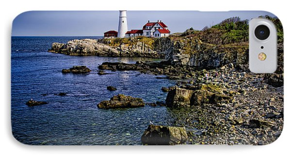 Portland Headlight 36 IPhone Case by Mark Myhaver