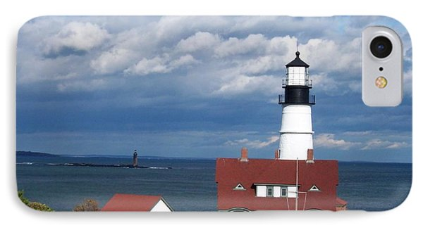 Portland Headlight IPhone Case by Catherine Gagne