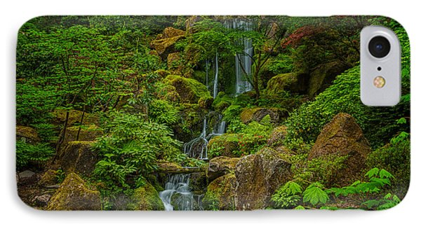 Portland Japanese Gardens IPhone Case by Jacqui Boonstra
