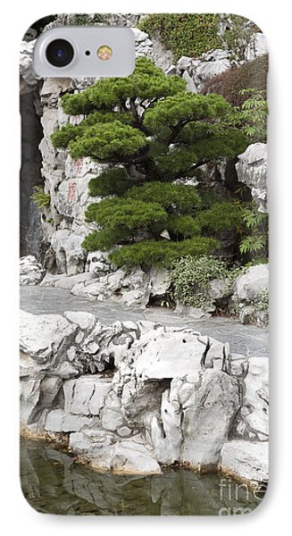 Portland Lan Su Gardens Phone Case by Peter French