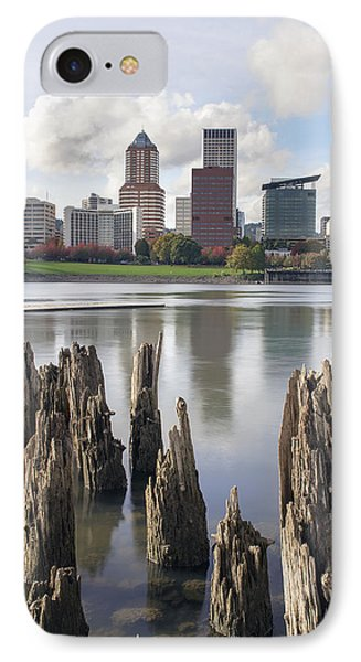 Portland Oregon Waterfront IPhone Case by Jit Lim