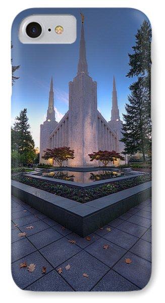 Portland Temple IPhone Case