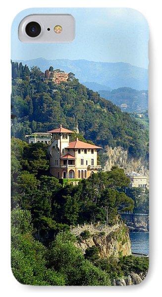 Portofino Coastline Phone Case by Carla Parris