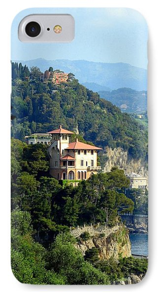 Portofino Coastline Phone Case by Carla Parris