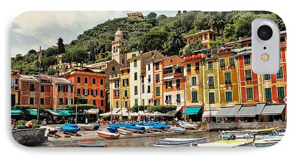 IPhone Case featuring the photograph Portofino Harbor 2 by Allen Beatty