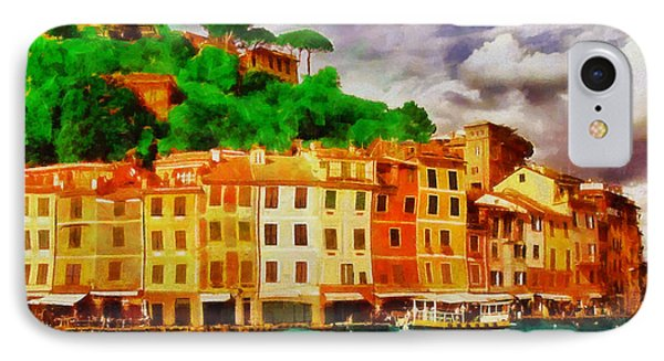 Portofino I Phone Case by George Rossidis