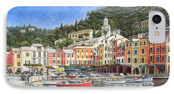 Portofino Italy Phone Case by Mike Rabe