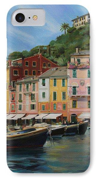 Portofino Summer Phone Case by Emily Olson