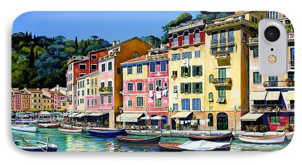 Portofino Sunshine Sold IPhone Case by Michael Swanson