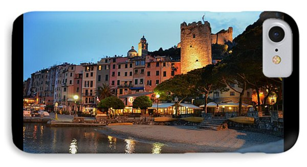 Portovenere At Night IPhone Case