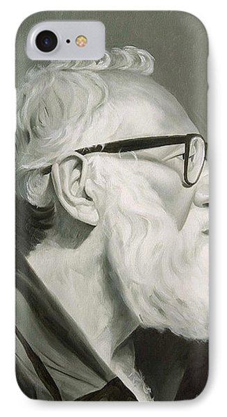 Portrait In Grisaille Phone Case by Gary  Hernandez