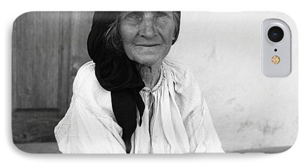 Portrait In Vrancea Romania IPhone Case