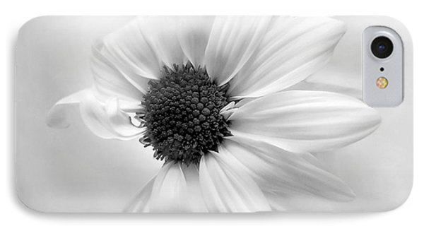 Portrait Of A Daisy IPhone Case by Louise Kumpf
