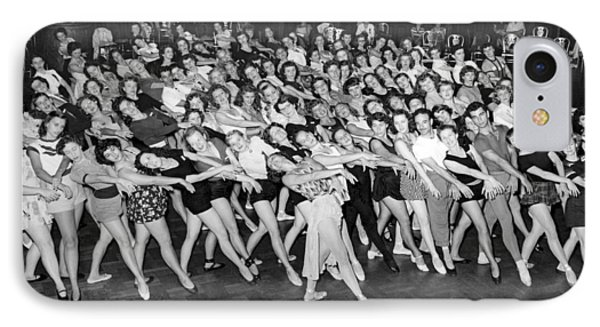Portrait Of A Dance Group IPhone Case