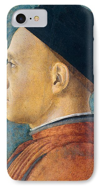 Portrait Of A Man Phone Case by Andrea Mantegna