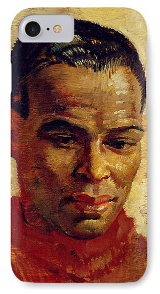 Portrait Of A Man, Possibly Henry IPhone Case by Glyn Warren Philpot