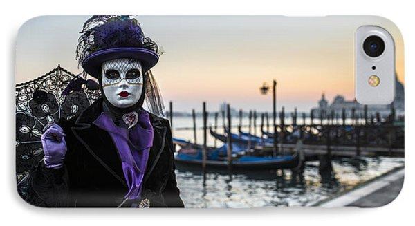 Portrait Of A Mask II IPhone Case by Yuri Santin