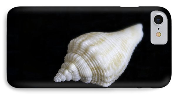 Portrait Of A Sea Shell Phone Case by Arlene Carmel