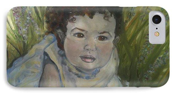 Portrait Of Alexandra Rose IPhone Case