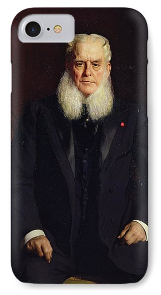 Portrait Of Alfred Chauchard 1821-1909 1896 Oil On Canvas IPhone Case by Constant