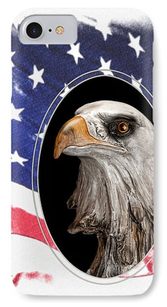Portrait Of America IPhone Case