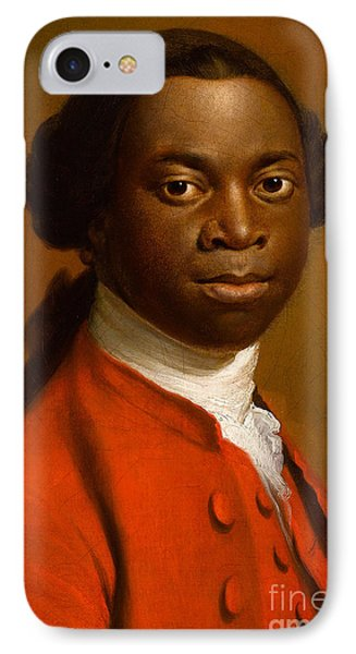 Portrait Of An African Phone Case by Allan Ramsay