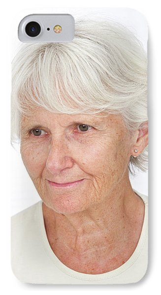 Portrait Of An Elderly Woman IPhone Case