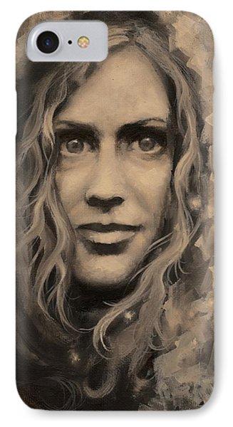 Portrait Of Annie IPhone Case
