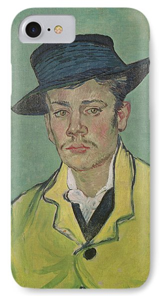 Portrait Of Armand Roulin Phone Case by Vincent Van Gogh
