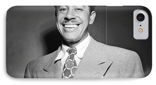 Portrait Of Cab Calloway IPhone Case by William Gottlieb