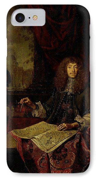Portrait Of Carel Quina 1620-89, Knight Of The Holy IPhone Case