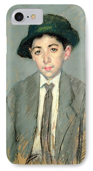 Portrait Of Charles Dikran Kelekian Phone Case by Mary Stevenson Cassatt