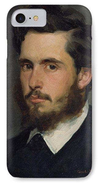 Portrait Of Claude Monet 1840-1926 1867 Oil On Canvas IPhone Case