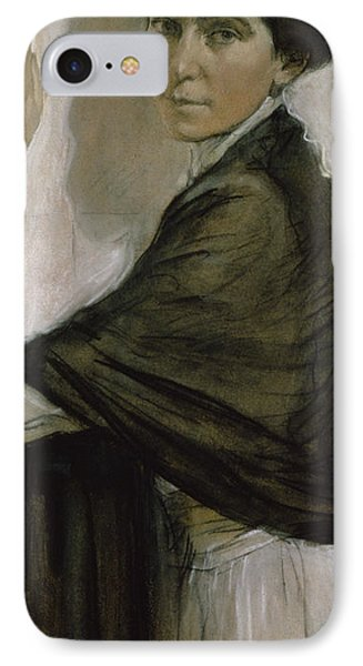Portrait Of Countess Olsuphyev IPhone Case by Valentin Serov